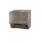 2000W Push-Button AirSpeed Hand Dryer, 208V-240V, Aluminum, Chrome Body
