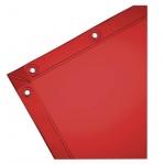 6-ft X 6-ft See-Thru Welding Curtain, Vinyl, Orange