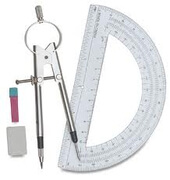 Protractor & Compass