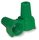 Green Ground Wing Wire Connector, Pack of 25