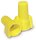 Contractor Choice Yellow Wing Wire Connector, Pack of 100