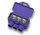 AlumiConn 3-Port Aluminum to Copper Lug, Pack of 2
