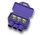AlumiConn 3-Port Aluminum to Copper Lug, Pack of 10