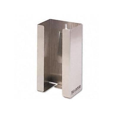 Stainless Steel Single-Box Glove Dispenser 5-1/2X3-3/4X10