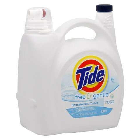 Tide Free & Gentle Concentrated Liquid Laundry Detergent 150 oz.