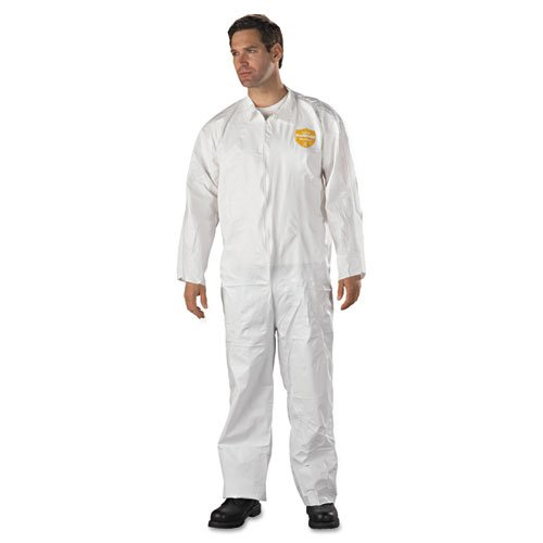 2X-Large KleenGuard A70 Chemical Spray Protection Coveralls