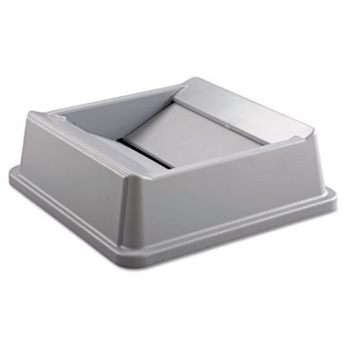 Untouchable Gray Square Lids for Square Top Containers