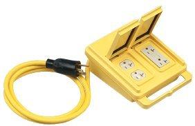 Ground Fault Circuit Interruptor Quad Box 20 AMP