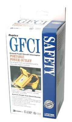Ground Fault Circuit Interruptor Duplex Box 15 AMP