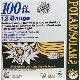 Yellow Polar/Solar Extension Cable