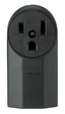 50 Amp Nylon Receptacle , NEMA/IEC 10-50