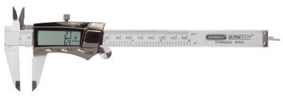 "0-6"" Hardened Stainless Steel Electro Digital Caliper W/ Case"