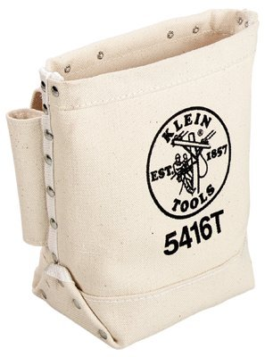 Klein Tools 5416T No. 4 Canvas Bull Pin and Bolt Bag