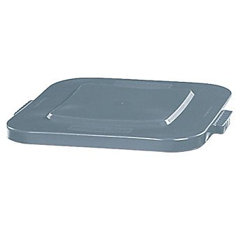 Brute Gray Square Lids for 40 Gal Square Containers