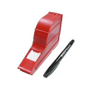 Wire Marker Write on Dispenser with Tape and Pen