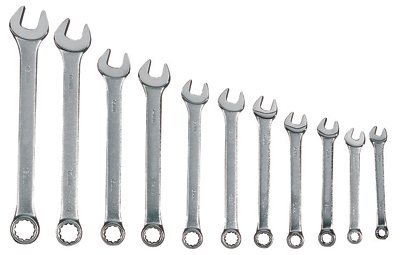 11 Piece Combination Wrench Set