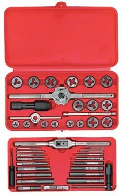 Machine Screw/Fractional Tap and Die Super Set