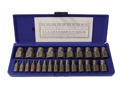 25 Piece Mutli-Spline Screw Extractor Set