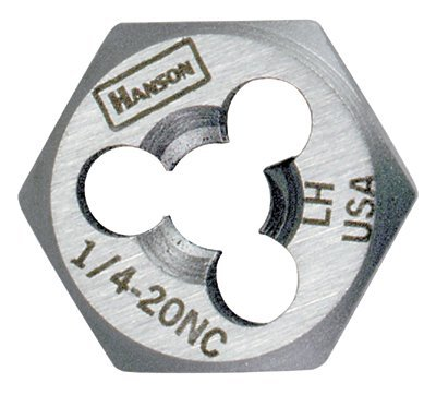 7/16'' High Carbon Steel Rethreading Fractional Hexagon Die