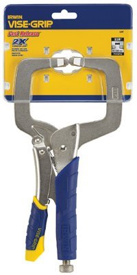 Fast Release Locking C-Clamp with Regular Tips