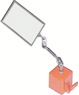 Rectangular Heavy Duty Inspection Mirror