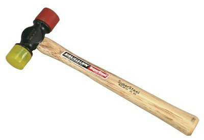 12 oz Supersteel Soft Face Hammer with Hickory Handle