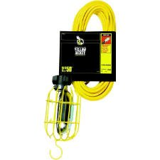50FT Work Light, Triple Conductor, Yellow