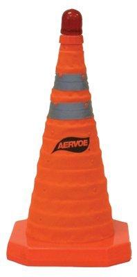 Hi-Viz Orange Nylon Collapsible Safety Cone
