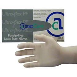 ULTRA FLEX PF Series Textured Latex Examination Gloves Extra Large