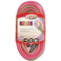 50 Foot Neon Pink and Green Extension Cable