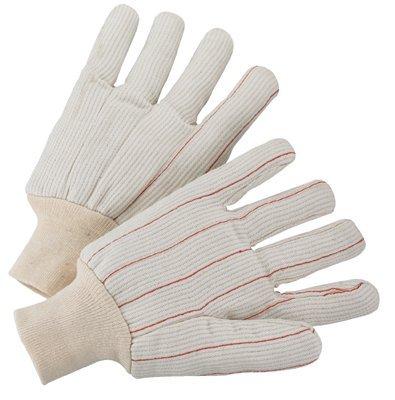 Large Unlined 18 OZ Polycord Knit Wrist Gloves