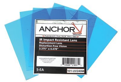 "4-5/8"" Clear Polycarbonate Cover Lens"