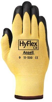 Size 7 Knit Wrist Kevlar Dupont Foam Nitrile CR Gloves