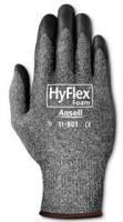 Gray HyFlex Light-Duty Work Gloves, Size 10