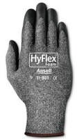 Gray HyFlex Light-Duty Work Gloves, Size 10