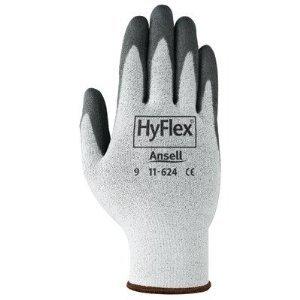 White/Gray HyFlex Foam Gloves Size 10