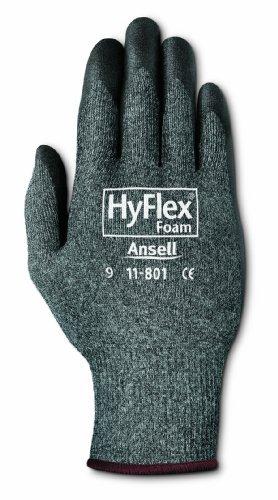 Hyflex Foam Ultra Lightweight Assembly Gloves, Size 10