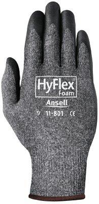 Size 11 HyFlex Nitrile Foam Gray Gloves