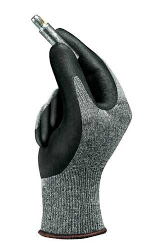 Size 8 Nitrile Foam Knit Gloves