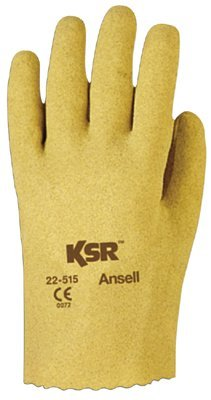 Size 10 KSR Vinyl Coated Slip On Gloves