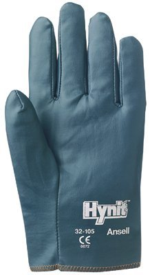 Size 7 Nitrile Impregnated Fabric Hynit Gloves