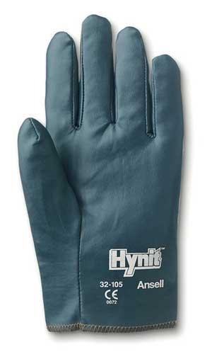 Size 8 Hynit Nitrile Impreganted Slip On Gloves