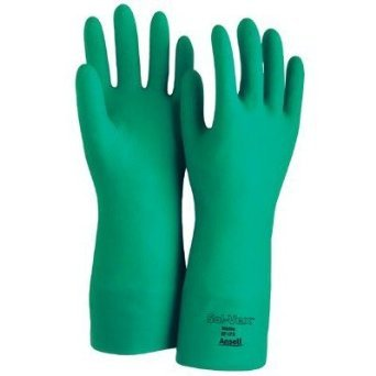 Sol-Vex Unsupported Nitrile Gloves w/ 15 Mil Thickness, Size 9