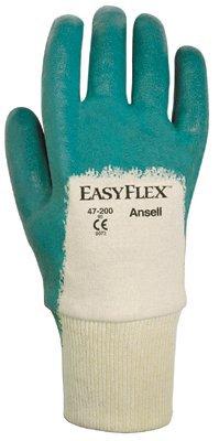 Size 10 Interlock Knit Easy Flex Gloves
