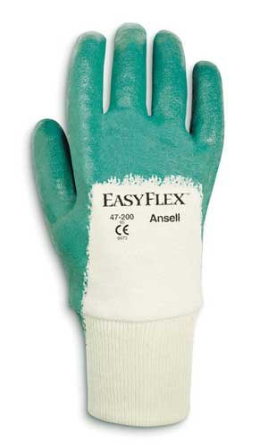 Size 9 Easy Flex Light Weight Nitrile Coated Gloves