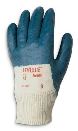 Size 10 Nitrile HyLite Palm Coated Gloves
