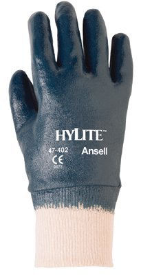 Size 10 HyLite Fully Coated Nitrile Gloves