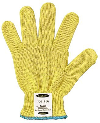 Size 9 GoldKnit Mediumweight Cut Resistant Gloves