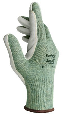 Size 8 Leather Vantage Heavy Cut Protection Gloves