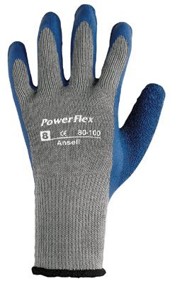Size 6 PowerFlex Natural Rubber Gloves